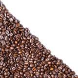 Διαγώνιο φασόλι καφέ μορφής Στοκ Εικόνα