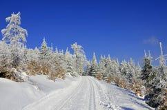 Διαγώνιο χειμερινό τοπίο χωρών Στοκ φωτογραφία με δικαίωμα ελεύθερης χρήσης