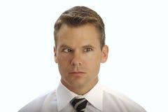 διαγώνιο eyed άτομο Στοκ Εικόνες