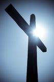 διαγώνιο silhouete Στοκ εικόνα με δικαίωμα ελεύθερης χρήσης