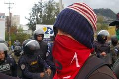 Διαδήλωση διαμαρτυρίας ενάντια στην επανεκλογή του Juan Ορλάντο Hernandez Ονδούρα στις 21 Ιανουαρίου 2018 16 στοκ εικόνες