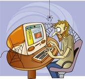 Διαδίκτυο μανιακό απεικόνιση αποθεμάτων