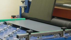 Διαδικασία γυαλιού στίλβωσης απόθεμα βίντεο