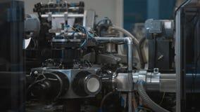 Διαδικασία παραγωγής του φλυτζανιού εγγράφου Πνευματική μεταβίβαση Μέρη περιστρεφόμενων μηχανών απόθεμα βίντεο