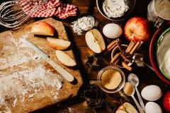 Διαδικασία ψησίματος μαγειρέματος άνωθεν Στοκ εικόνες με δικαίωμα ελεύθερης χρήσης