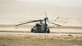 Διαδικασίες ελικοπτέρων στο Αφγανιστάν Στοκ εικόνες με δικαίωμα ελεύθερης χρήσης