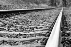 διαδρομές σιδηροδρόμων Στοκ φωτογραφίες με δικαίωμα ελεύθερης χρήσης