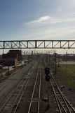 διαδρομές σιδηροδρόμων Στοκ Εικόνες