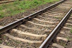 Διαδρομές σιδηροδρόμων Στοκ εικόνες με δικαίωμα ελεύθερης χρήσης
