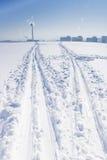 διαδρομές σκι Στοκ φωτογραφίες με δικαίωμα ελεύθερης χρήσης