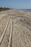 Διαδρομές στην άμμο στοκ φωτογραφίες με δικαίωμα ελεύθερης χρήσης