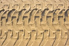 διαδρομή άμμου Στοκ φωτογραφία με δικαίωμα ελεύθερης χρήσης