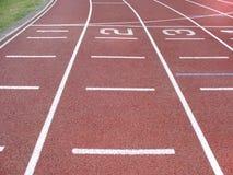 διαδρομή αθλητισμού Στοκ φωτογραφία με δικαίωμα ελεύθερης χρήσης