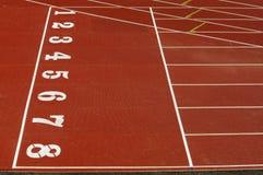 διαδρομή αθλητισμού Στοκ εικόνες με δικαίωμα ελεύθερης χρήσης