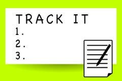 Διαδρομή γραψίματος κειμένων γραφής αυτό Έννοια που σημαίνει την τραχύ πορεία ή το δρόμο χαρακτηριστικά μια κτυπημένη χρήση παρά  διανυσματική απεικόνιση