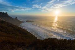 Διαδρομή 1, Ηνωμένες Πολιτείες Καλιφόρνιας στοκ εικόνες