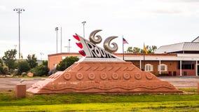 Διαδρομή 66 μνημείο στο New Mexico Στοκ φωτογραφίες με δικαίωμα ελεύθερης χρήσης