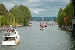 διαδρομή παρελάσεων Στοκ φωτογραφίες με δικαίωμα ελεύθερης χρήσης