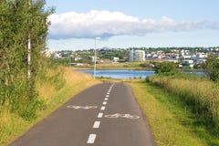 διαδρομή ποδηλάτων Στοκ Φωτογραφίες