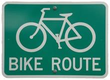 διαδρομή ποδηλάτων Στοκ Εικόνες