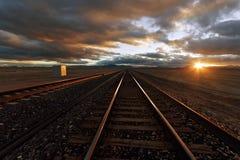 Διαδρομή σιδηροδρόμου Στοκ Φωτογραφία