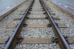 Διαδρομή σιδηροδρόμων σε Kanchanaburi, Ταϊλάνδη στοκ εικόνες με δικαίωμα ελεύθερης χρήσης