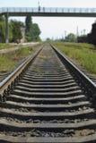 διαδρομή σιδηροδρόμων Στοκ Φωτογραφία