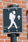 διαδρομή τουριστών Στοκ Εικόνες