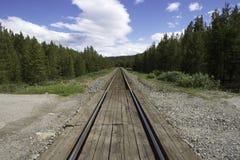Διαδρομή τραίνων στοκ φωτογραφίες με δικαίωμα ελεύθερης χρήσης
