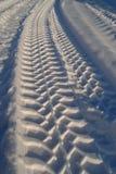 διαδρομή χιονιού στοκ φωτογραφία με δικαίωμα ελεύθερης χρήσης
