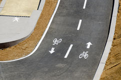 διαδρομή Francisco SAN ποδηλάτων Στοκ Εικόνα