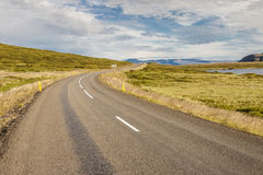 Διαδρομή nr 60 - Ισλανδία. Στοκ Εικόνες