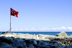 διαθέσιμο διάνυσμα της Τουρκίας ύφους γυαλιού σημαιών στοκ φωτογραφία με δικαίωμα ελεύθερης χρήσης