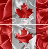 διαθέσιμο διάνυσμα ύφους γυαλιού σημαιών του Καναδά Στοκ Φωτογραφίες