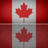 διαθέσιμο διάνυσμα ύφους γυαλιού σημαιών του Καναδά Στοκ εικόνες με δικαίωμα ελεύθερης χρήσης