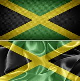 διαθέσιμο διάνυσμα ύφους της Τζαμάικας γυαλιού σημαιών Στοκ φωτογραφία με δικαίωμα ελεύθερης χρήσης