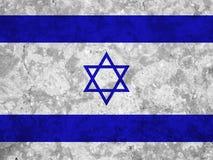 διαθέσιμο διάνυσμα ύφους του Ισραήλ γυαλιού σημαιών διανυσματική απεικόνιση