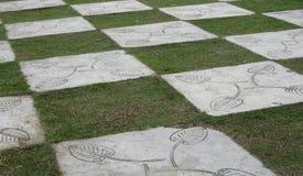 Διαιρεσμένο σε τετράγωνα πάτωμα Στοκ φωτογραφία με δικαίωμα ελεύθερης χρήσης