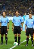 Διαιτητές ποδοσφαίρου Στοκ φωτογραφία με δικαίωμα ελεύθερης χρήσης