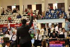 Διαιτητές Jitsu Jiu, πρωτάθλημα νεώτερων, το Μάιο του 2018 στοκ εικόνες με δικαίωμα ελεύθερης χρήσης