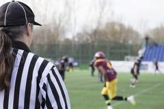 Διαιτητής ποδοσφαίρου Στοκ εικόνα με δικαίωμα ελεύθερης χρήσης