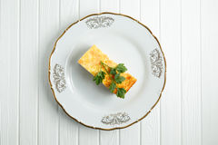Διαιτητικό casserole τυριών Στοκ φωτογραφία με δικαίωμα ελεύθερης χρήσης