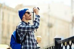 Διακινούμενος φωτογράφος Στοκ φωτογραφία με δικαίωμα ελεύθερης χρήσης