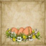 διακοπές αυγών Πάσχας κα&rho Στοκ Φωτογραφίες