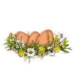 διακοπές αυγών Πάσχας κα&rho Στοκ εικόνες με δικαίωμα ελεύθερης χρήσης