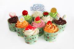 διακοπές γλυκό επιδορπίων Κέικ, cupcake Στοκ φωτογραφία με δικαίωμα ελεύθερης χρήσης