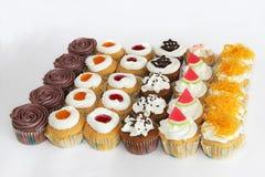 διακοπές γλυκό επιδορπίων Κέικ, cupcake Στοκ Φωτογραφία