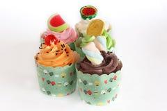 διακοπές γλυκό επιδορπίων Κέικ, cupcake Στοκ Φωτογραφίες