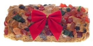 διακοπές δώρων καρπού κέικ Στοκ Φωτογραφίες