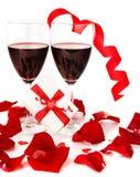 διακοπές δώρων ρομαντικέ&sigmaf Στοκ εικόνα με δικαίωμα ελεύθερης χρήσης